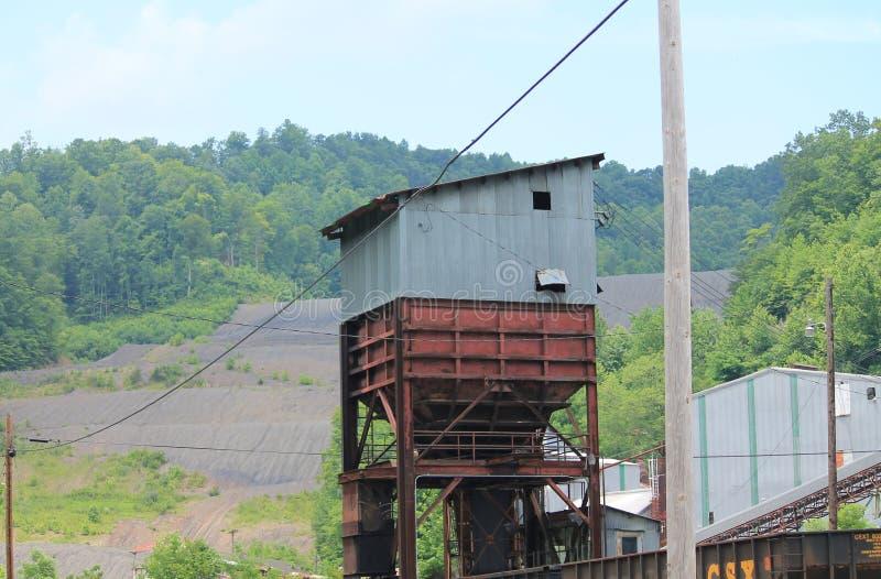 Rusty Coal Tipple royalty free stock photography