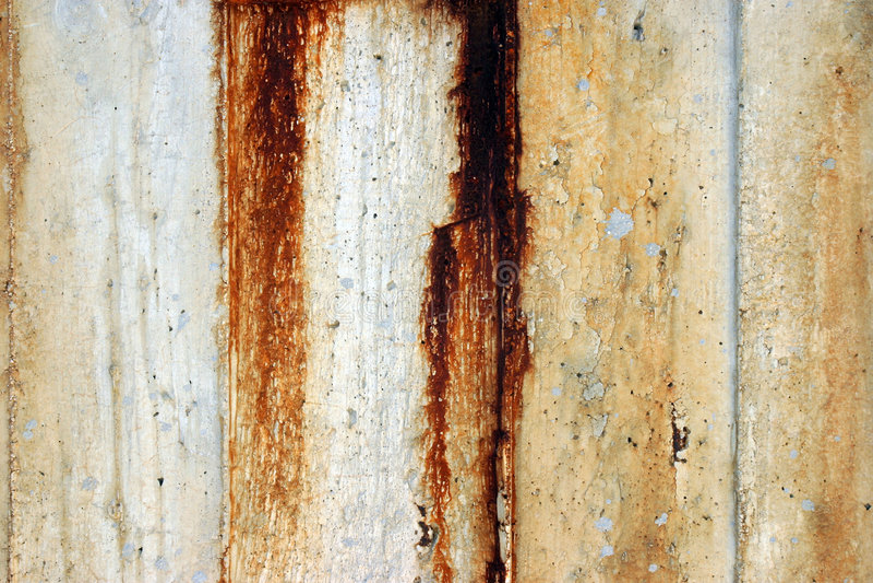 Rusty concrete stock photo
