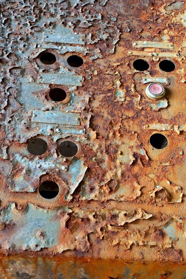 Rusty Control Box Royalty Free Stock Photos