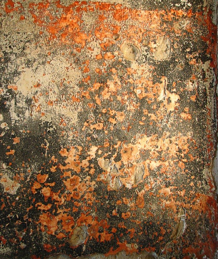 rusty distressed wall (Angel Island) stock photo