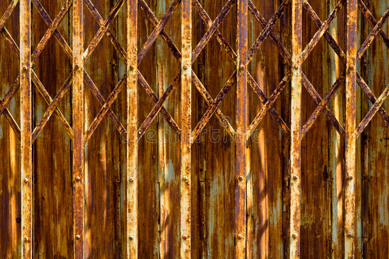 Download Rusty door stock photo. Image of material, closed, textured - 23391130