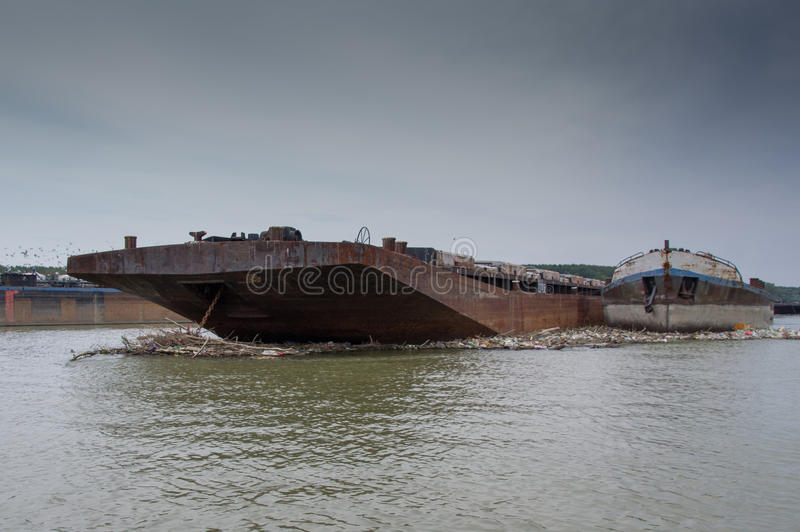 Rusty Freighter fotos de stock