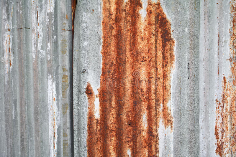 Rusty galvanized steel background royalty free stock images