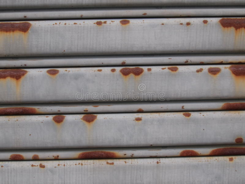 Rusty galvanized steel sheet stock images