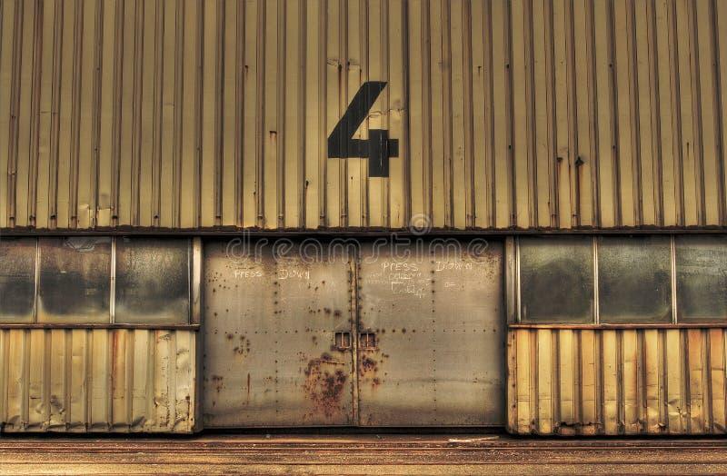 Rusty Garage Doors Stock Photo Image Of Urban Metal 50166942