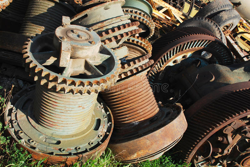 Download Rusty gears stock image. Image of circum, equipment, gearwheel - 14626829