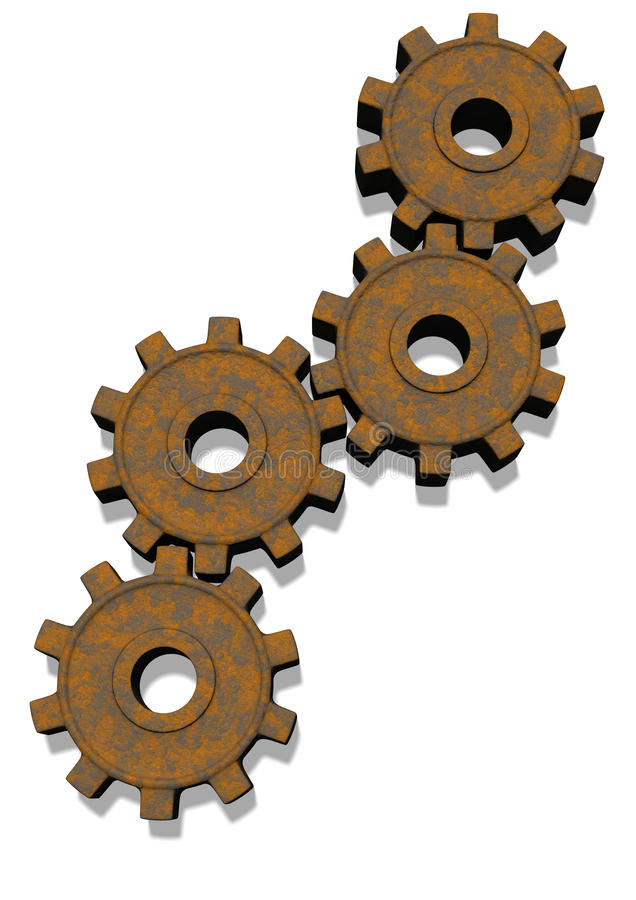 Download Rusty Gears Stock Photos - Image: 26574753