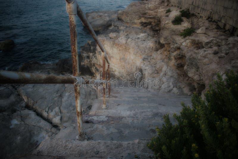 Rusty Handrail lizenzfreie stockfotografie
