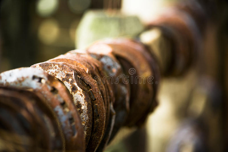 Rusty Horseshoes immagine stock