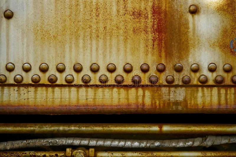 Rusty Industrial Background images libres de droits