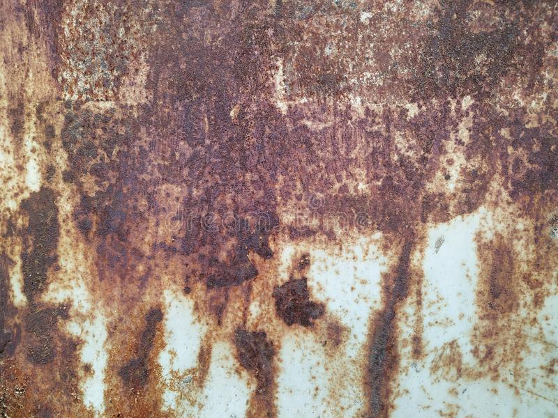Rusty iron background. Abstract colorful rusty metal background royalty free stock photos