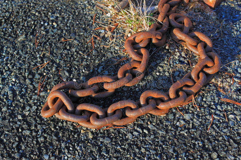 Download Rusty Iron Chain Royalty Free Stock Images - Image: 22837139