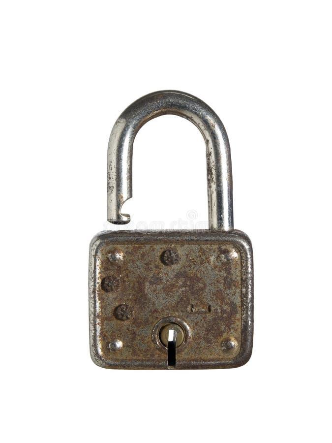 Rusty lock royalty free stock photo