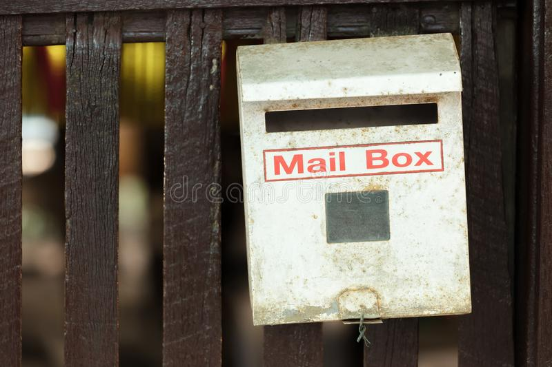 Rusty Mail Box Royalty Free Stock Images