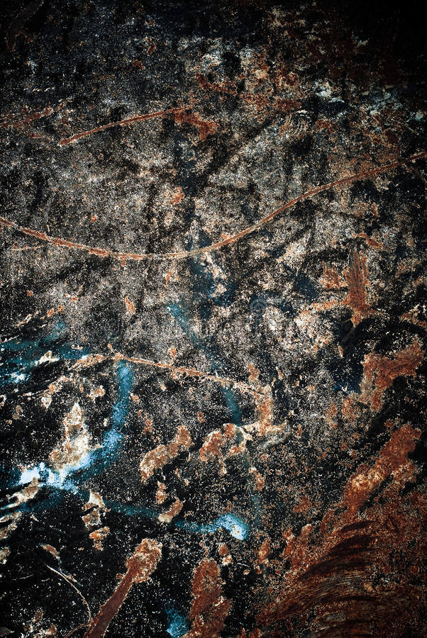 Download Rusty metal stock photo. Image of scratches, paint, textured - 23875690