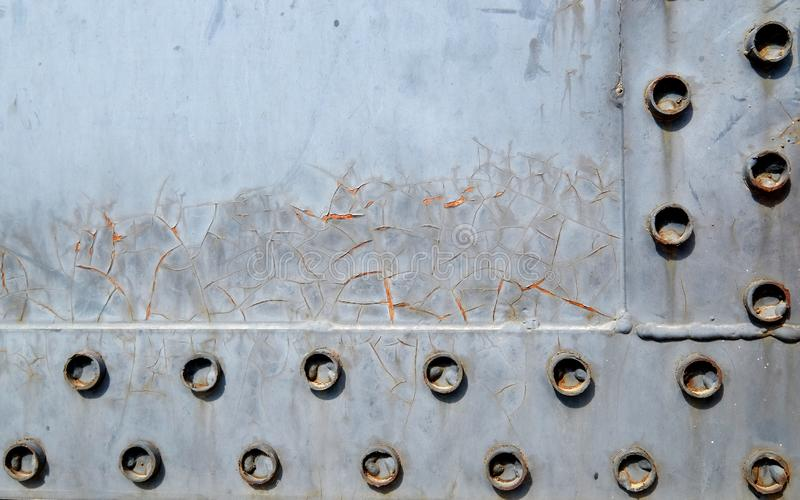 Rusty metal background stock images