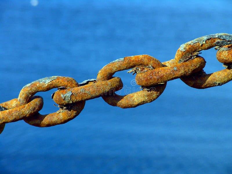 Rusty Metal Chain image libre de droits