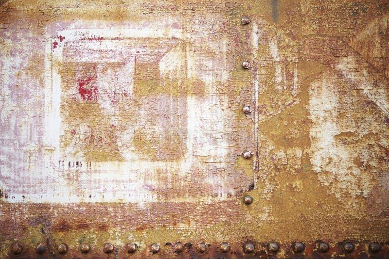 Rusty Metal envejecido fotos de archivo