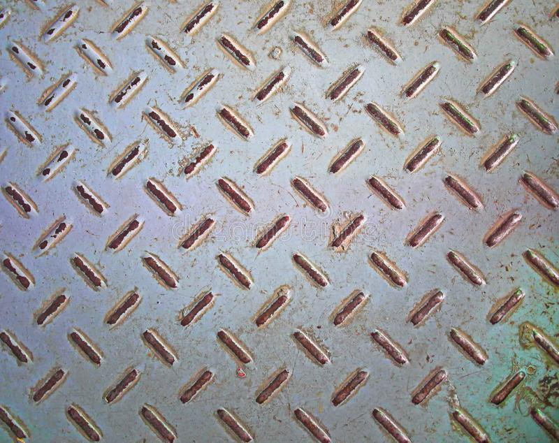Rusty metal floor texture royalty free stock images