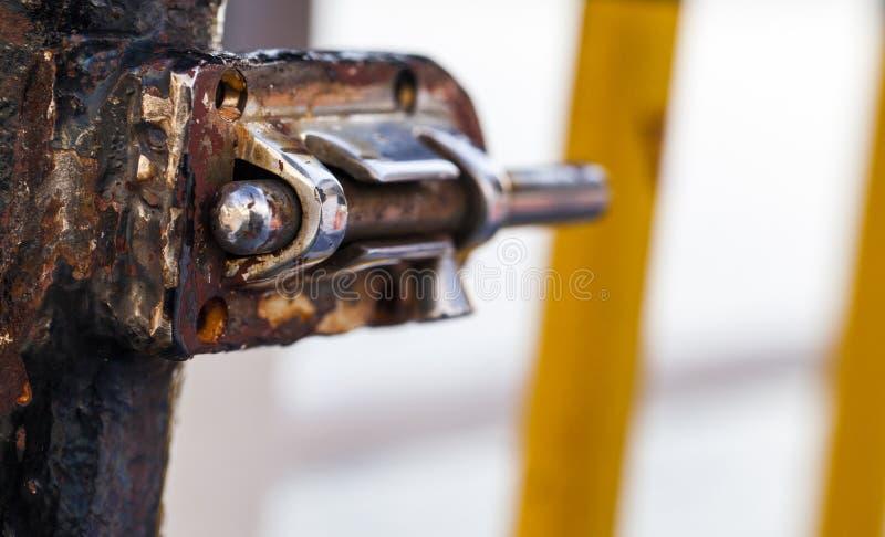 Rusty Metal Lock stock photos