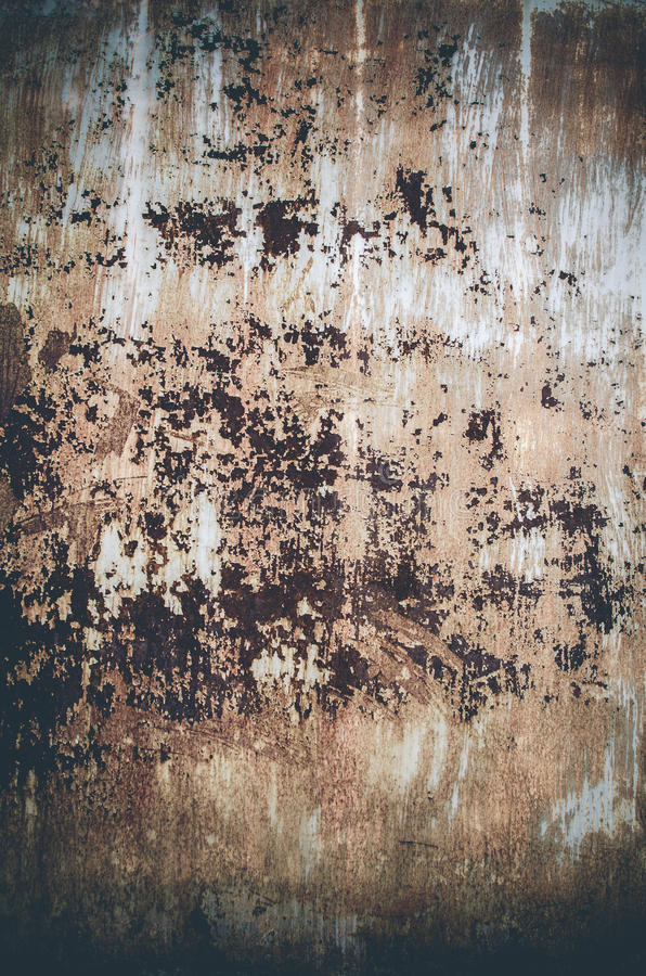 Rusty metal panel royalty free stock photos