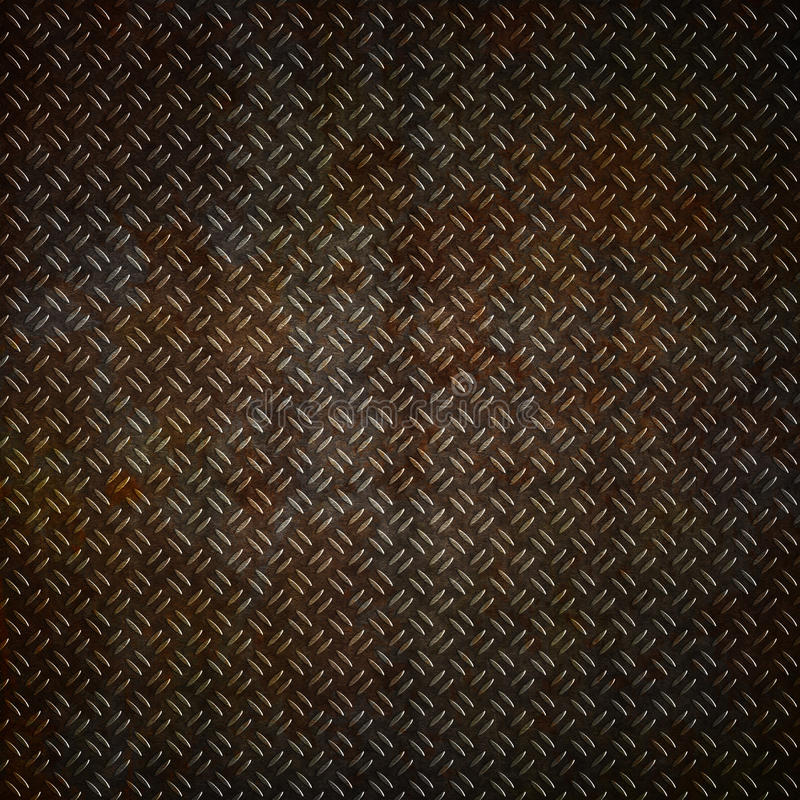 Download Rusty Metal Plate Background Stock Illustration - Image: 25604126