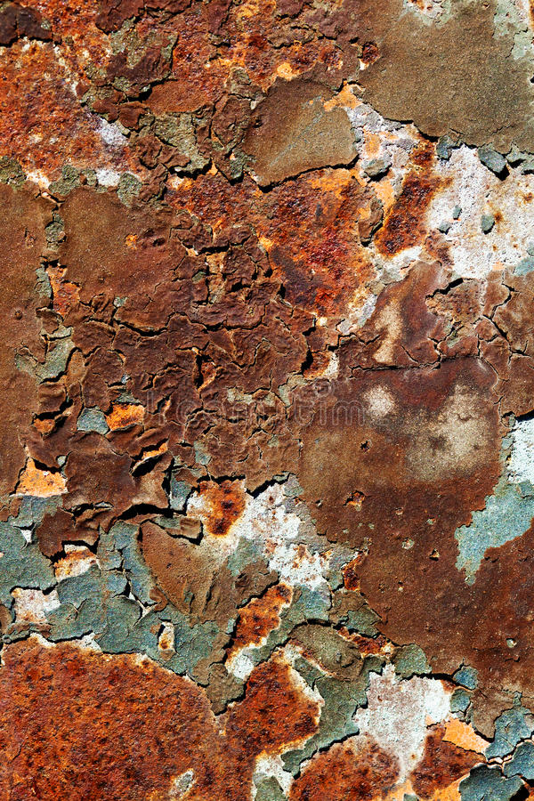 Download Rusty Metal Plate stock image. Image of antique, oxidized - 32992557