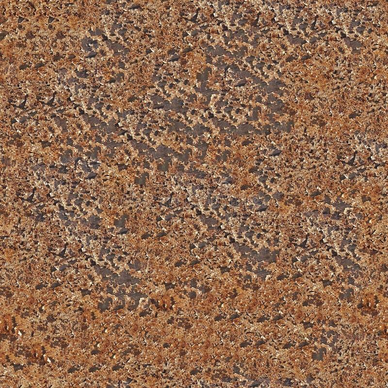 Rusty metal sheet stock image