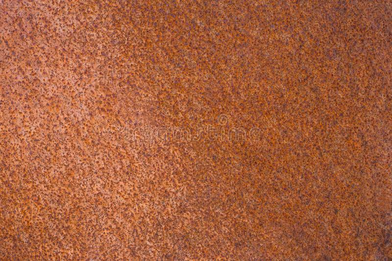 Rusty metal sheet for background stock photos