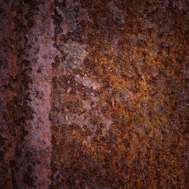 Rusty metal surface background royalty free stock photography