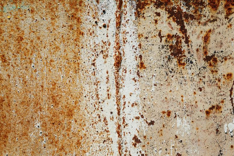 Rusty metal surface with scratches abstract texture stock images