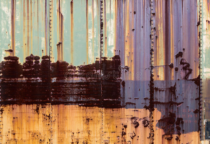 Rusty Metal Texture fotos de stock royalty free