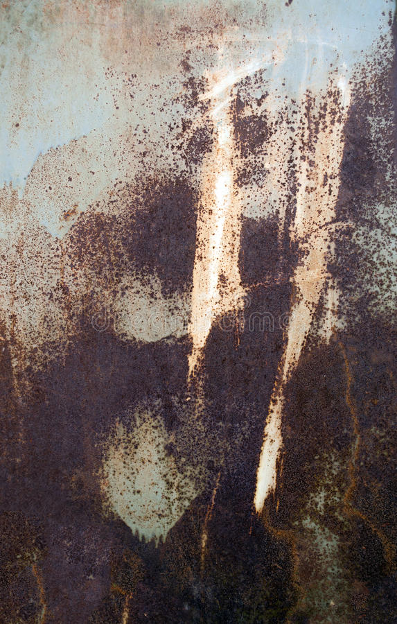 Rusty metal texture and abstract background royalty free stock photography