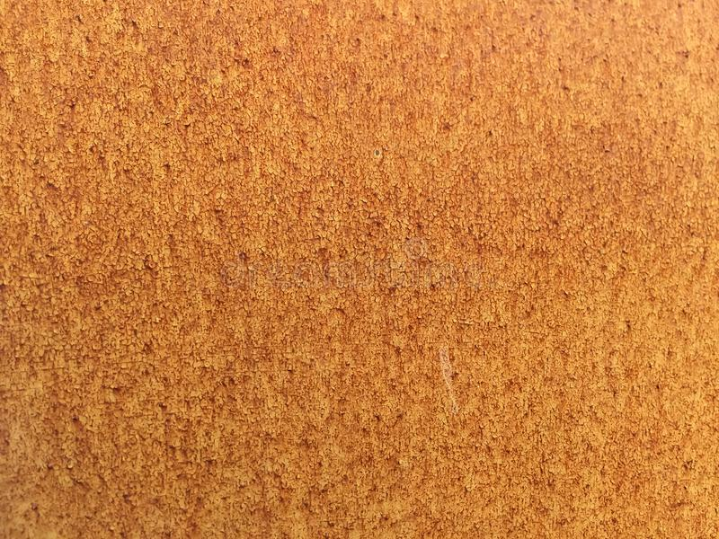 Rusty metal texture background,Grunge surface with cracked orange paint and red royalty free stock photography