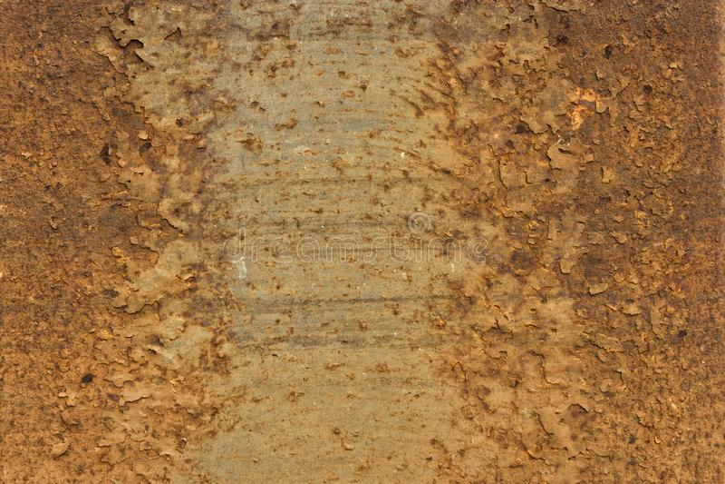 Rusty Metal Texture - fond abstrait de papier peint image stock
