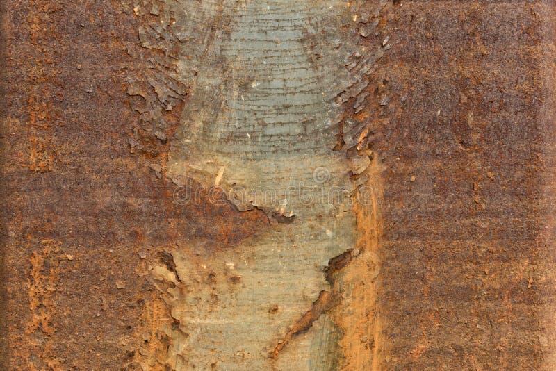 Rusty Metal Texture - fondo abstracto del papel pintado fotografía de archivo