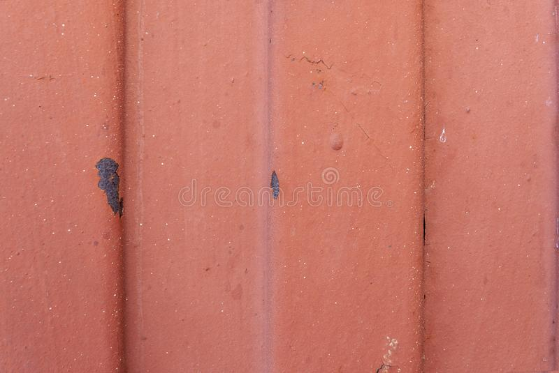 Rusty Metal Texture. Stain, surface red and white iron stock photos