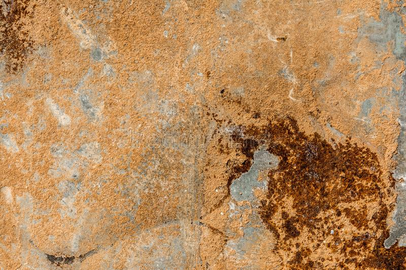 Rusty metal textured background, abstract backdrop. Rusty metal textured background, top view, abstract backdrop stock image