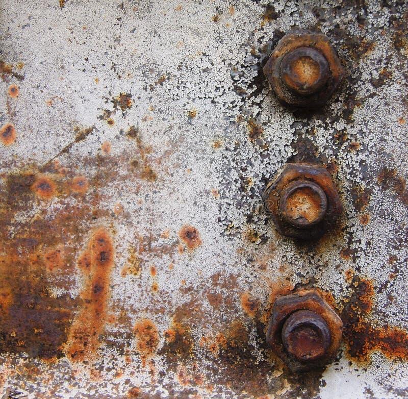 Free Rusty Metallic Background Stock Image - 9526651