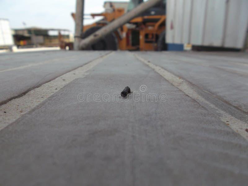Rusty Nail fotografie stock