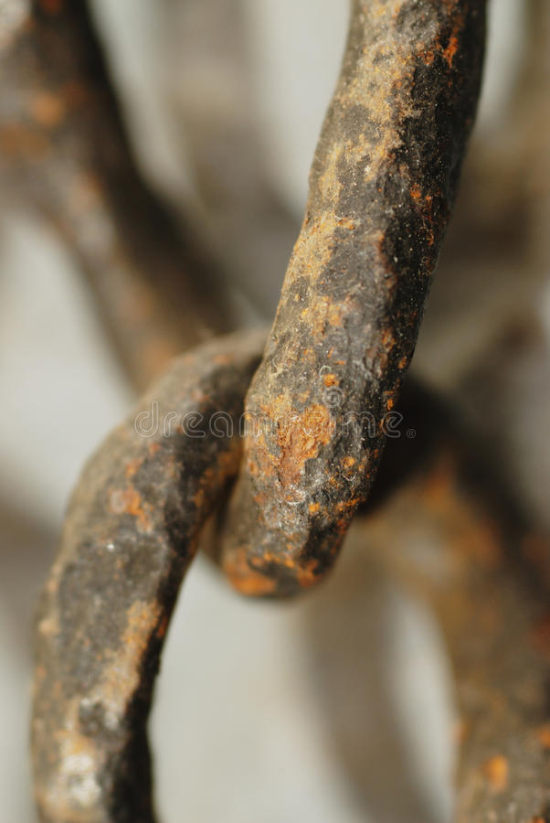 Free Rusty Old Chain Stock Photography - 14015142