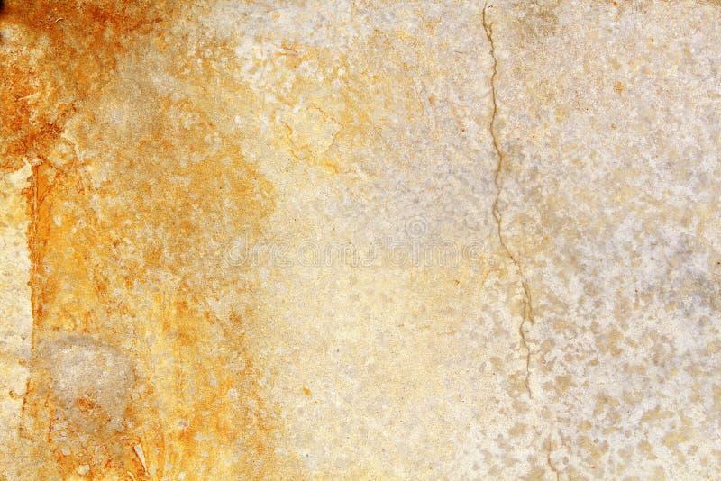 Rusty Old Concrete Background - naranja foto de archivo