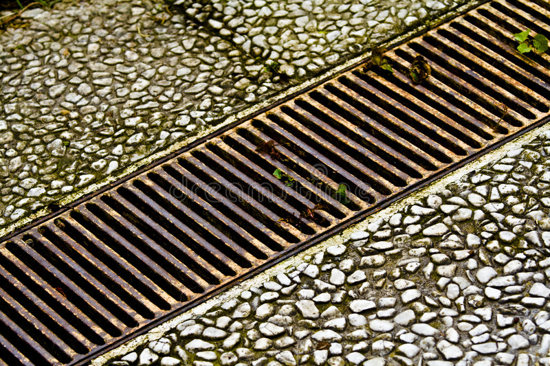 Rusty old metal plate royalty free stock photo