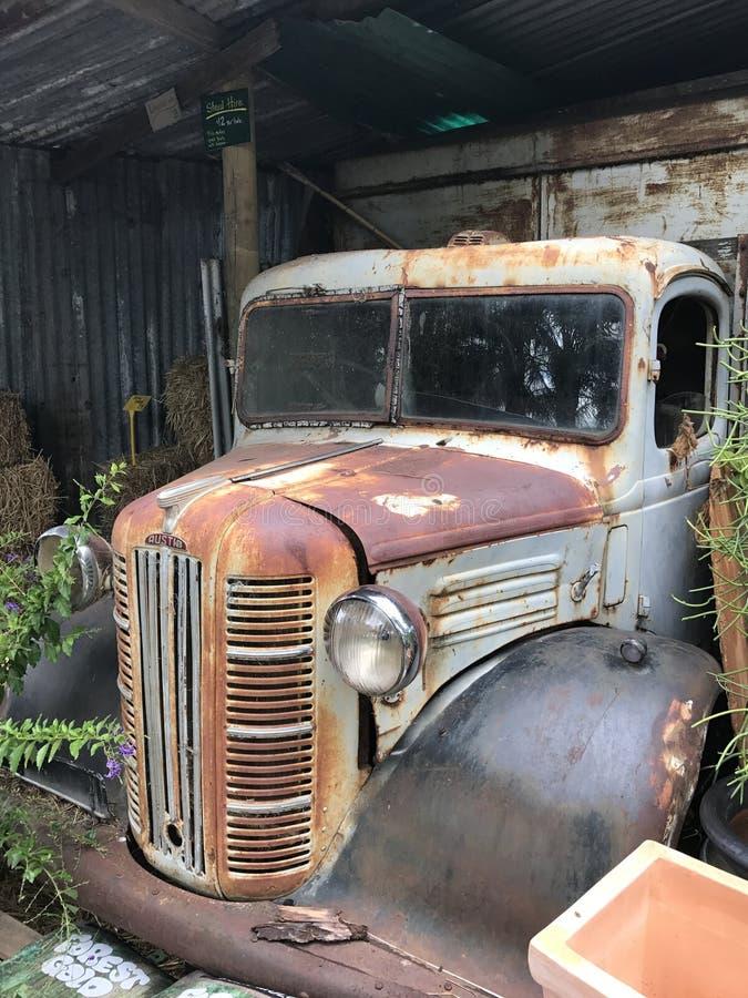 Rusty Old Pick Up Ute 1950& x27; s fotografia de stock