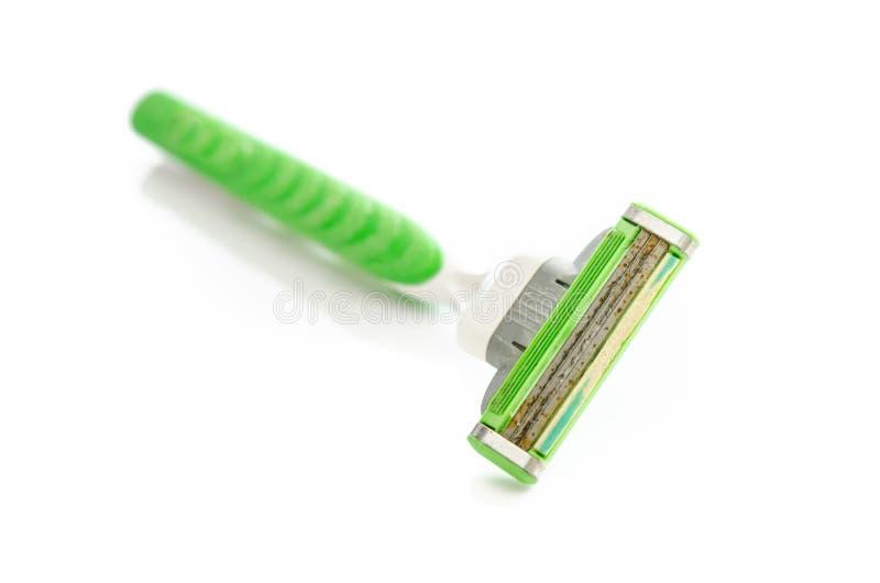 Rusty old razor. A shaving razor become rusty stock image
