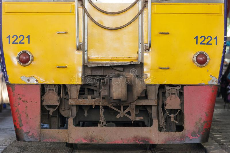 Download Rusty old train stock photo. Image of rusty, yellow, transport - 28710040