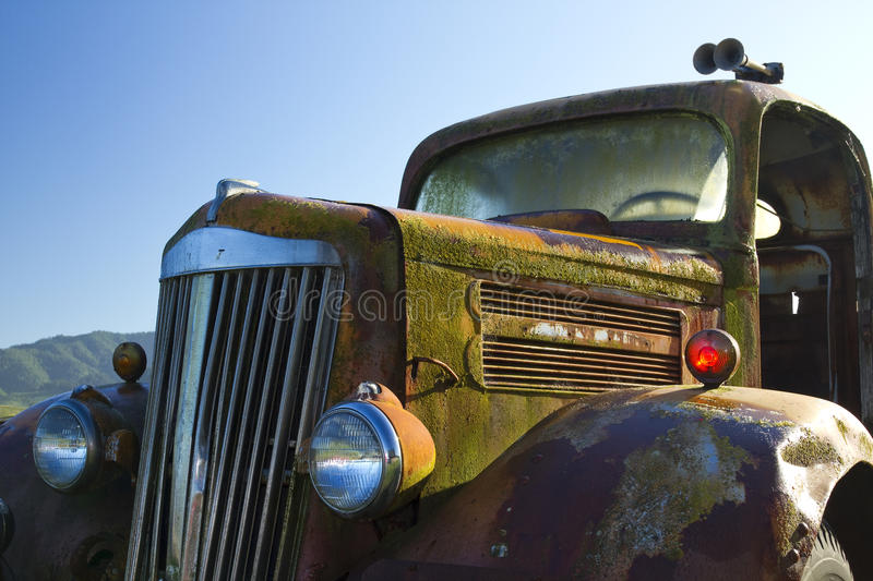 Rusty Old Truck royalty free stock photography