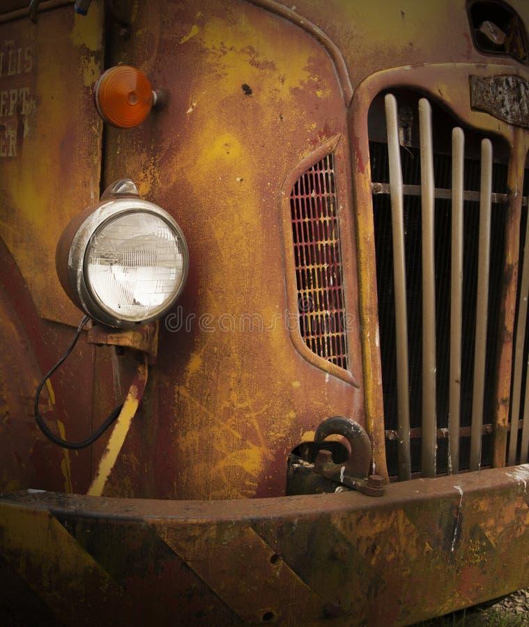 Rusty Old Truck Closeup lizenzfreie stockbilder