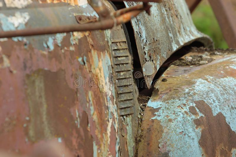 Download Rusty Old Vehicle stock photo. Image of side, rust, paint - 3660916