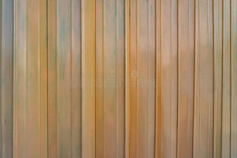 Rusty orange metal doors vintage style texture. Old texture background royalty free stock images